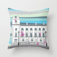 Walton Street Throw Pillow