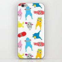 mur pattern1 iPhone & iPod Skin