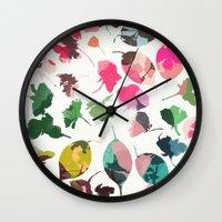 cherry blossom 3 Wall Clock