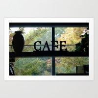 Cafe Art Print