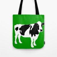 Farm Cow Art Tote Bag