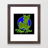 My Feral Doe Logo Framed Art Print