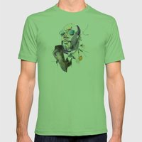 Isaac Hayes Mens Fitted Tee Grass SMALL