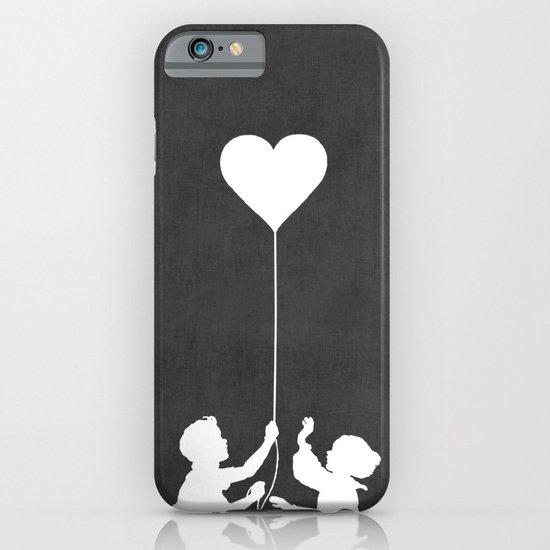 Love Balloon monochrome iPhone & iPod Case
