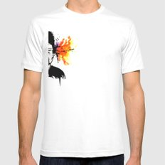 Gazuntite White Mens Fitted Tee SMALL