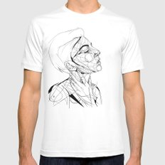 Madeline White Mens Fitted Tee SMALL
