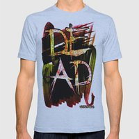 D.E.A.D  Mens Fitted Tee Athletic Blue SMALL