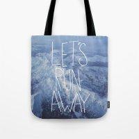 Let's Run Away X Snow Mo… Tote Bag