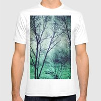 Wintergreen Twilight Mens Fitted Tee White SMALL