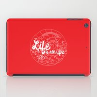 Life is All Right (RED) iPad Case