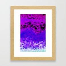 INVITE TO LILAC Framed Art Print