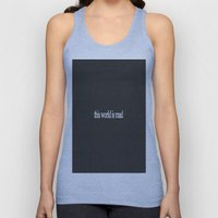 This world is mad Unisex Tank Top