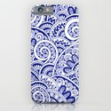 Midnight Blue Maze iPhone & iPod Case