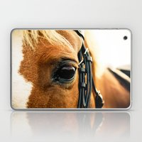 a horse's kind eyes. Laptop & iPad Skin