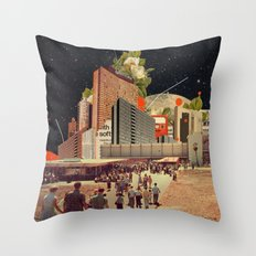 Software Road Throw Pillow