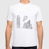 Point of view... Mens Fitted Tee Ash Grey SMALL