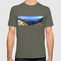 Crater Lake Mens Fitted Tee Lieutenant SMALL