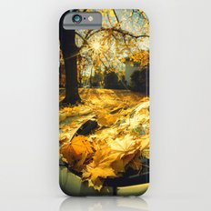 The Last Weekend of Calming Yellow Autumn III iPhone 6 Slim Case