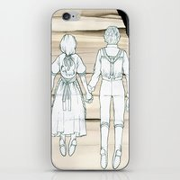 We Both Go Down Together iPhone & iPod Skin