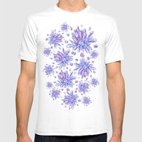 Zero Gravity Crystals Mens Fitted Tee White SMALL