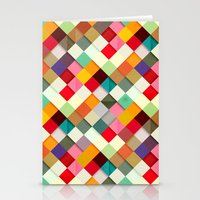happy Stationery Cards featuring Pass this On by Danny Ivan
