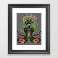 Sound Asylum Framed Art Print