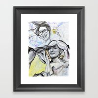 Oyster-tecture Framed Art Print