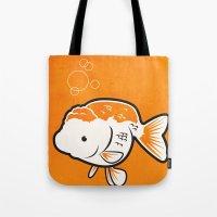 Ranchu Goldfish Tote Bag