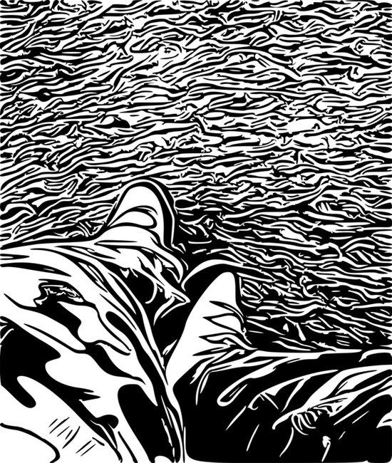 The illustrator Art Print