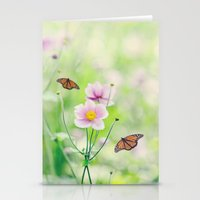 In the garden of bliss Stationery Cards