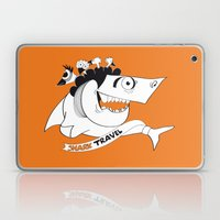 Happy Travel Shark Laptop & iPad Skin