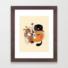 Celebrate Animals Framed Art Print