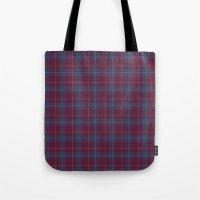 Da Vinci Rosslyn Rose Tartan Tote Bag