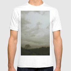 Dawn in the countryside Mens Fitted Tee White SMALL