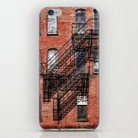Tenement Facade  iPhone & iPod Skin