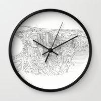 Canary Wharf Wall Clock