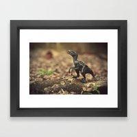 Raptor Framed Art Print