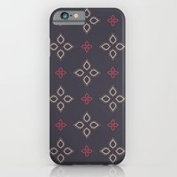 Abstract floral shapes iPhone 6 Slim Case