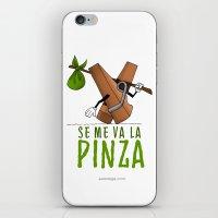 SE ME VA LA PINZA iPhone & iPod Skin