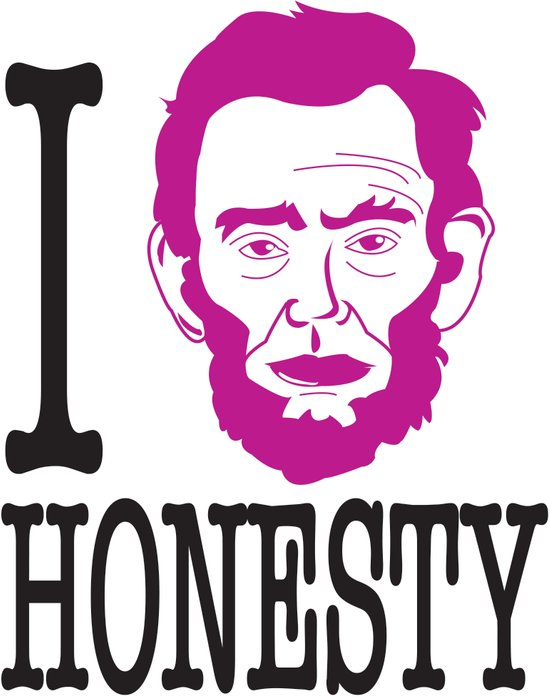 I __ Honesty Art Print