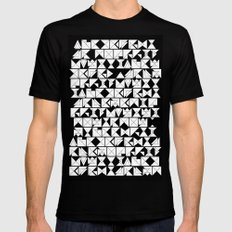 Chaos  SMALL Mens Fitted Tee Black