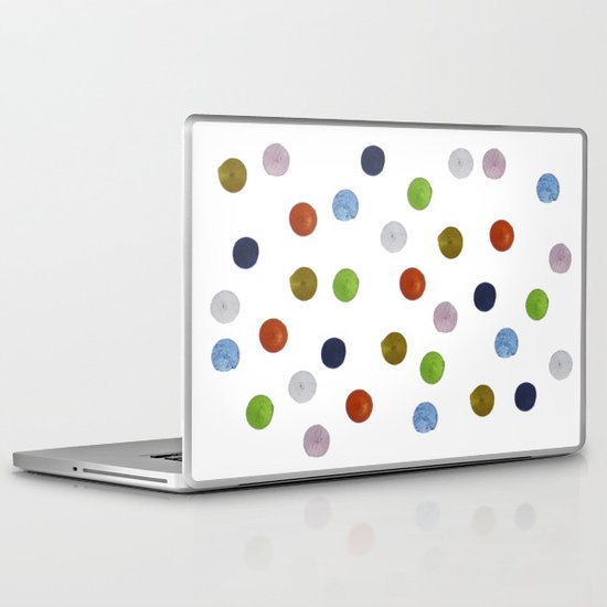 Pinpoint Dots Laptop & iPad Skin