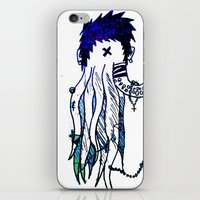 Tentacle X iPhone & iPod Skin