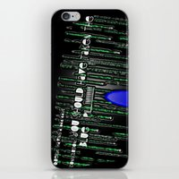 Blue Pill iPhone & iPod Skin