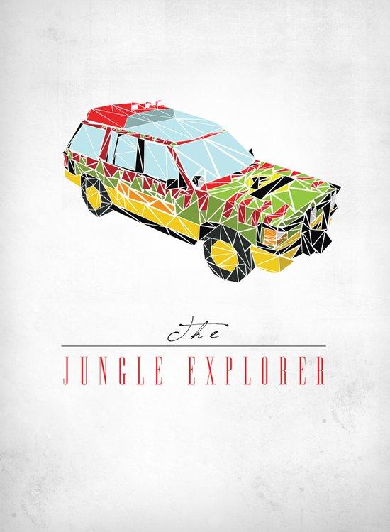 The Jungle Explorer  Art Print