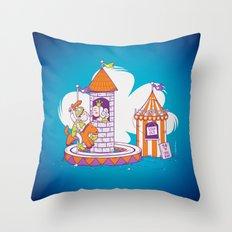 Love Loop Throw Pillow