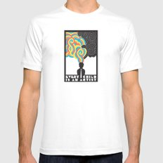 Every Child Is An Artist Mens Fitted Tee White SMALL