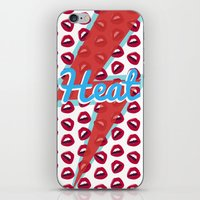 Heat  iPhone & iPod Skin