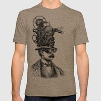 The Projectionist (colour option) Mens Fitted Tee Tri-Coffee SMALL