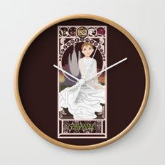 Childlike Empress Nouveau - Neverending Story Wall Clock
